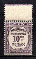 MONACO 1924 / 1932  N° 14  NEUF** /14 - Taxe