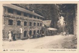 CPA - France - (58) Nièvre - Lac Des Settons - L'Auberge Morvandelle - La Façade - Montsauche Les Settons