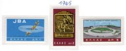 SPORT - OLYMPIC GAMES - 1965 -  GRECIA - Mi. Nr.  887/889 - NH - (6532-39) - Grecia