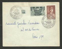 """Vignette """" Tombeau De Napoléon """" Avec Petain / Exposition Philatélique Paris - L'art Dans Le Timbre / 1941 - Lettres"""