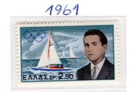 SPORT - OLYMPIC GAMES - 1961 -  GRECIA - Mi. Nr.  747 - NH - (6532-39) - Grecia