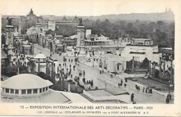 75 PARIS EXPO DES ARTS DECORATIFS - Ausstellungen