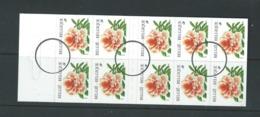 """Belgique - Timbre """" SPECIMEN """" Destiné à La Presse ( Oblitération Cercle Noir )  Carnet B 29 - 1997 Fleur ** - Other"""