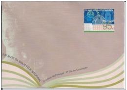 PORTOGALLO - 1996 - 200 Anos Da Biblioteca Nacional Busta Postale 95$ Nuova** - Entiers Postaux