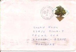 Spain Cover To Pakistan, Stamps Tree    (A-3800-special-80) - 1931-Hoy: 2ª República - ... Juan Carlos I