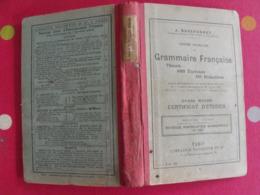 Grammaire Française. Théorie, 1005 Exercices, 150 Rédactions. Certificat D'études. J. Dussouchet. Hachette 1911 - Boeken, Tijdschriften, Stripverhalen