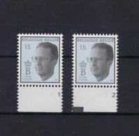 N°2520 (pltn°set) MNH ** POSTFRIS ZONDER SCHARNIER SUPERBE - Plate Numbers