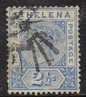 Saint Helena, QV, 1896, 2 1/2d Ultramarine, Used - Saint Helena Island
