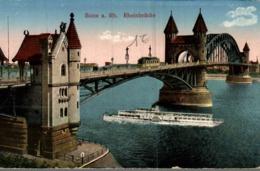ALLEMAGNE  BONN A. RH.  RHEINBRUCKE - Bonn