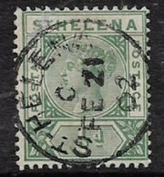 Saint Helena, QV, 1897, 1/2d Green, Used - Saint Helena Island