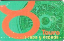 VENEZUELA(chip) - Zodiaco/Tauro, 05/98, Used - Zodiaco