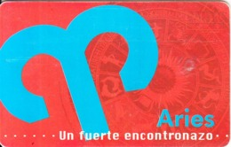 VENEZUELA(chip) - Zodiaco/Aries, 04/98, Used - Zodiaco