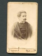 "Fotografia ESTUDANTE COIMBRA, Por PHOTOGRAPHO Amador ""J.Hermano"". Old CDV Photo 1896 PORTUGAL - Photos"