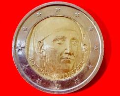 ITALIA - 2013 - Moneta - 700 Anni Della Nascita Di Giovanni Boccaccio - Euro - 2.00 - Italy