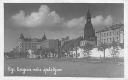 Riga - Daugavas Malas Apstadijumi - 1933 - Letland