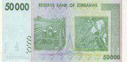 Zimbabwe P.74 50000 Dollars 2008 Unc - Zimbabwe