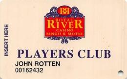 Royal River Casino - Flandreau, SD - Slot Card - Casino Cards