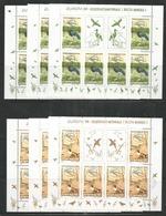 3x ROMANIA - MNH - Europa-CEPT - Birds - 1999 - Europa-CEPT