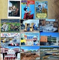 """ALBI - Lot De 10 Cartes Du """"Salon De La Carte Postale Et Des Collections"""" De 2000 à 2008 (voir Scan) - Bourses & Salons De Collections"""