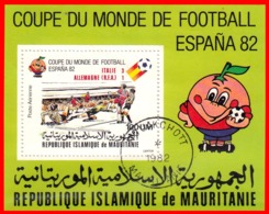 MAURITANIA HOJITA  ESPAÑA COPA MUNDIAL DE FUTBOL ESPAÑA 82 - Mauritania (1960-...)