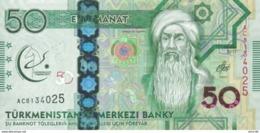 Turkmenistan P.40  50  Manat 2017  Unc - Turkmenistan