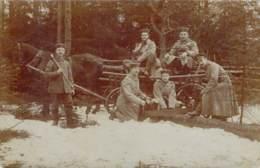 Soldaten Im Feldlager Pferd Kutsche - Guerra 1914-18