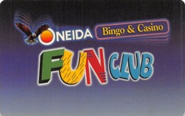 Oneida Bingo & Casino Green Bay, WI - Slot Card - No Manufacturer Mark - Casino Cards