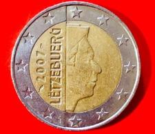 LUSSEMBRUGO - 2007 - Moneta - Ritratto Di Sua Altezza Reale Il Granduca Henri - Euro - 2.00 - Lussemburgo