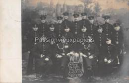 CARTE PHOTO METZ  1909  PORTE DES ALLEMANDS FUSSARTILLERIE REGIMENT Nr. 12 - Metz