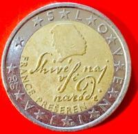 SLOVENIA - 2007 - Moneta - France Preseren, Poeta - Euro - 2.00 - Slovenia