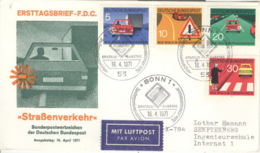 BRD 670/73 FDC Sonderstempel - [7] Federal Republic