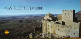 FOLLETO TURÍSTICO CASTILLO DE LOARRE. - Folletos Turísticos