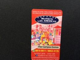 CARTE DE VISITE Et CALENDRIER 2018  Magasin De Meubles  MUEBLERIA LAS AMERICAS  San Jose  COSTA RICA - Visiting Cards