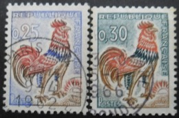 FRANCE N°1331 Et 1331A Oblitérés - Sammlungen (ohne Album)