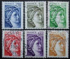 FRANCE Série N°2056 Au 2061 Oblitéré - Sammlungen (ohne Album)