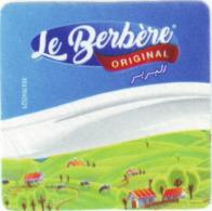 """Algérie - 1 étiquette (carré) -  Fromage Fondu """"Le Berbère - Fromage"""