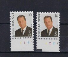 N°2532 (pltn°set) MNH ** POSTFRIS ZONDER SCHARNIER SUPERBE - Plate Numbers