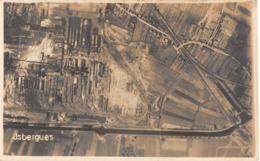 CPA 62 -  ISBERGUES, Vue Aérienne, 1914 - 1918 Guerre,    Carte Photo. - Isbergues