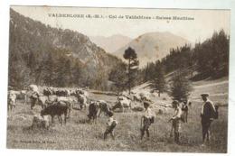 VALDEBLORE - Col De Valdeblore (St-Martin) - Circulé 1928 Bon état - Autres Communes
