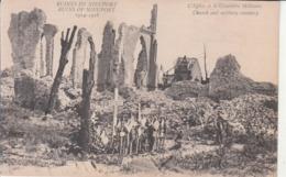 Nieuport (1914-1918) - L'Église Et Le Cimetière Militaire - Nieuwpoort