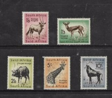 South Africa, 1954, 1'3  - 10/-, MH * - Unused Stamps