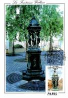 YT 3442 - Fontaine Wallace - Carte Maximum 2001 - Cartas Máxima