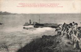 BIARRITZ - LE NAUFRAGE DU KNEBWORTH - SAUVETAGE DES MARINS A L AIDE D UN FILIN - Biarritz