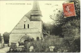 CPA DE SAINT-CYR-LA-CAMPAGNE  (EURE)  L'EGLISE - France