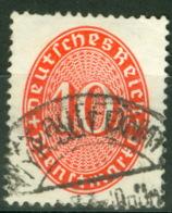 Deutsches Reich Dienst 123 O - Servizio