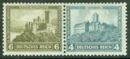 Deutsches Reich Zusammendruck W41 ** Postfrisch - Se-Tenant