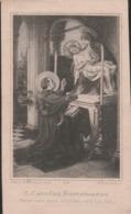 Petrus Joannes Van Looveren-ontvanger Burgelijke Akten-loenhout 1840-antwerpen 1904-dikkere Zwarte Rand Aanwezig - Santini