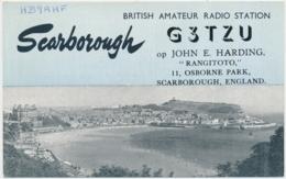 Scarborough - British Amateur Ranio Station G3TZU Von 1965 - Radio Amateur