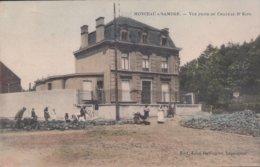 Monceau S/Sambre Vue Prise Du Chateau Dr Kips ( Duitse Bezetting ) - Charleroi