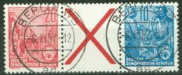 DDR Zusammendruck WZ3 O - [6] République Démocratique